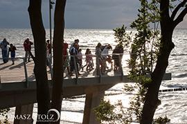 Plaża w Rewalu - Taras widokowy